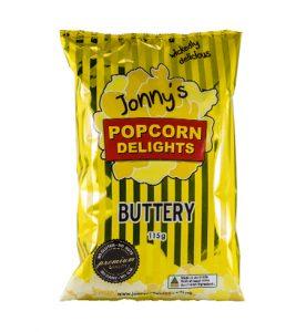 Jonnys Popcorn Buttery 115g