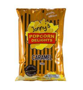 Jonnys Popcorn Caramel 115g