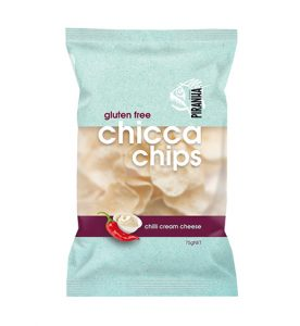 Piranha Range Chicca Chips Chilli Cream Cheese 75g