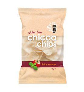 Piranha Range Chicca Chips Italian Supreme 75g