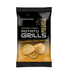 Piranha Range Golden Hash Potato Grills 75g Roast Chicken & Herbs (GF)