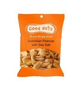 Portion Pack - Australian Peanuts with Sea Salt
